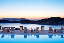 Pool Area / Enjoy the stunning views of Ios Greece from our pool area