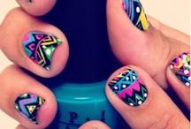Chu won ta gel on yo nail? / Nails, Bon Qui Qui style. / by Sarah Moseley