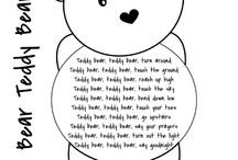 Teddy bears and transition time. July