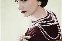 Chanel / Coco Chanel and her lovely designs