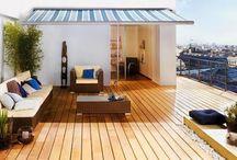 Terrazas de descanso / Para descansar una bonita tarde, que mejor que una terraza.