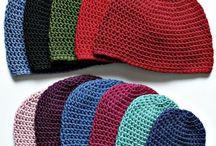 Crochet - headwear, scarves and footwear