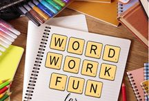 | word work | / | literacy centres | WTW | spelling |