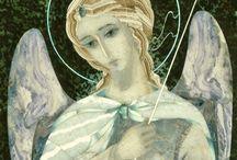 """мои мозаики 1 / флорентийские и римские мозаики из самоцветного камня все мозаики СОАВТОРСКИЕ мои и Ирины К. мозаики в Лавре и """"Троица"""" в Дивееве под руководством отца Мануила"""