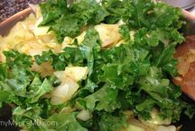 kale and the like / by Cathy Larson