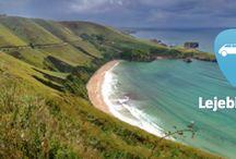 Autohuur in Spanje / Ultieme vrijheid vind je langs de Spaanse kust in je huurauto. Toer langs levendige badplaatsen en ontdek rustige strandjes. Zoek het avontuur door de ruige kliffen te beklimmen en kijk paraglidend uit over de charmante baaien van de Middellandse Zee.