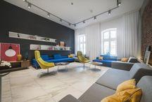The Interior in Black & White Contrast