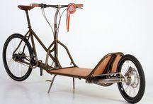Lastesykkel / transportsykkel, varesykkel, lastesykkel, long John, longtail
