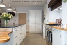 Kitchens with stone floors / Some ideas for wonderful modern, contemporary and traditional kitchens with stone floors.