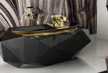 Luxus Badezimmer / Je detailliert die Stücke, desto besser das Design. Finden Sie die besten Tipps und Ideen für das perfekte Design von Luxus Badezimmer.  Luxus | Badezimmer | Design Inspirationen | Inspiration | Spiegeln | Beleuchtung | Einrichtungsideen | Inneneinrichtungsideen | Dekoideen | Wohndesign