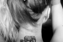 Elephant Tattoo / The most beautiful elephant tattoos for a dear friend...