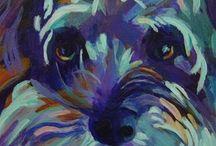schilderen dieren