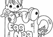 Christmas Coloring Pages & More
