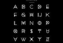 Alphabet and calligraphy