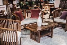 Záhradný nábytok - zariaďte si aj exteriér / Inšpirácie a tipy exteriérového nábytku aj pre Váš domov.