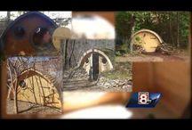 Hobbits At Work / by Wooden Wonders Hobbit Holes