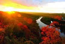 Fall in the Ozarks / The autumn landscape in the Branson area explodes in an array of rich colors beginning in mid-September and lasting through November. / by Explore Branson