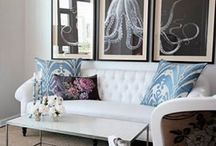 Home Decor - Artwork Inspiration / by Mandy Pellegrin