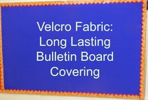 Bulletin Boards / Creating functional and beautiful classroom bulletin boards