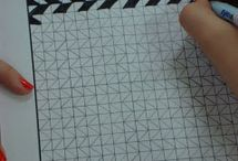 Grid Paper Drawing.