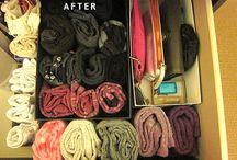 decluttering  & storage !