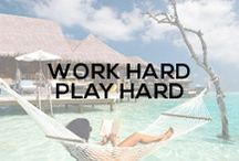 Work Hard Play Hard / www.parklanejewelry.com/shop
