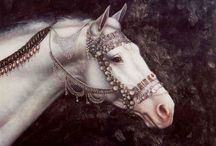 Horses / Art and photos for resource