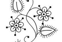 Dibujos y plantillas para bordar