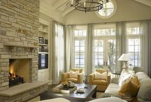 Living Room Decor / Living room or family room decor and interior design