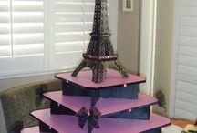 Iva's Paris Theme Party