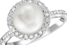 Diamonds ( and pearls) are girls best friend!  / Would really love one of these
