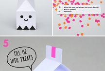Emballasje/origami