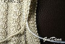 Видеоуроки / Машинное вязание