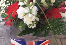 Lotty's flowers weekly contract floral displays.