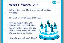 ICS Learn Maths Puzzles / Maths puzzles created by ICS Learn's in-house maths tutor Melissa