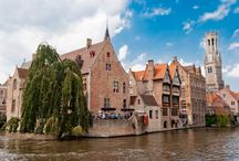 Beautiful BRUGES Belgium / A waffle stall on every corner, romantic carriages on every street, and an airy main square with 47 bells that chime so tunefully are just some of the city's features. We LOVE Bruges, and the city is now available on Stay.com.