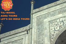 """Taj Mahal Calligraphy / The Taj Mahal always welcomes each of its visitors with an inscription, written in beautiful handwriting, on the great gate that reads """"O Soul, thou art at rest.  Read: http://letsgoindiatours.blogspot.in/2015/12/agra-tours.html"""
