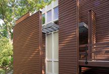 Modern Style Homes / www.windsorwindows.com / by Windsor Windows & Doors