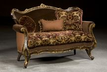 """Design and Decor - Furniture to Faint Over / Favorite Furniture.  As the title suggests it may run high to fainting couches, Victorian sofas, and the like.  More can be found on the """"Bits and Pieces"""" board."""