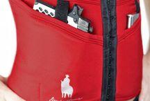 Limited Edition Crimson Concealed Carry Corset / The Limited Edition Crimson concealed carry corset and satin robe set! www.deneadams.com