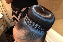 Black Hair Updos / Need an elegant style for work or an event? Get inspiration from these gorgeous black hair updos.