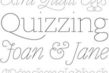 Doodles & Fonts / by Margaret Arisco Williams