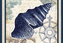 Декупаж МОРЕ / морская тема