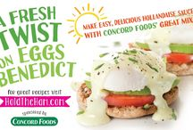 Make Your Easter Eggs-tra Special! / Recipes for making eggs dishes, particularly that old classic -- Eggs Benedict -- with fresh produce that will dazzle your Easter guests.