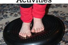 Sensory activities for Sonny