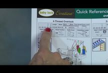 Baby lock ovation feets and tutorials ,lesjes