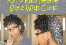 style with curls