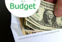 Finances/Saving Money