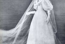 Vintage Brides / A look back at the beautiful and stunning wedding dresses of the different eras