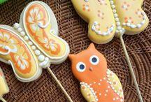 Bichinhos da floresta - Forest Dwelling cookies